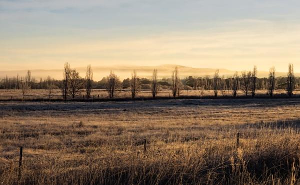 Early Winter, Bungendore by BobinAus