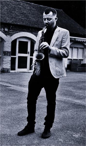 Saxophonist by fredsphotos