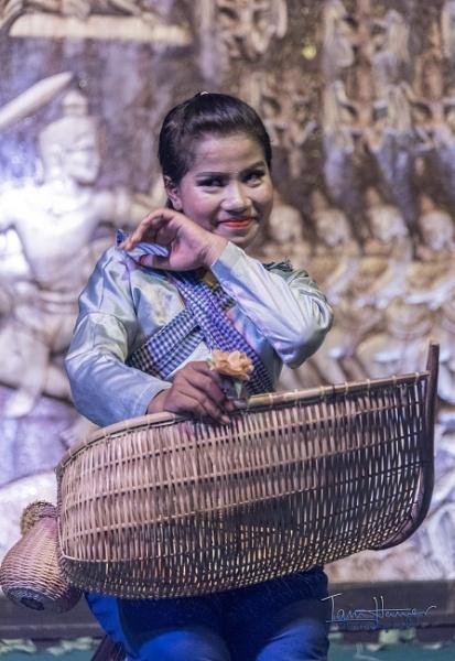 Cambodian Apsara dancer by IainHamer