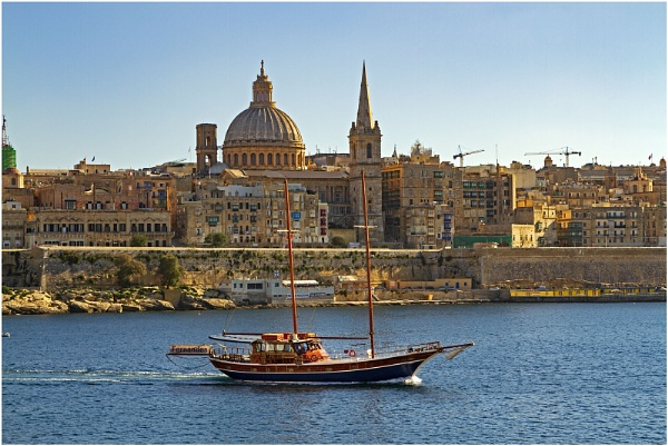 Views of Malta George Cross by VincentChristopher