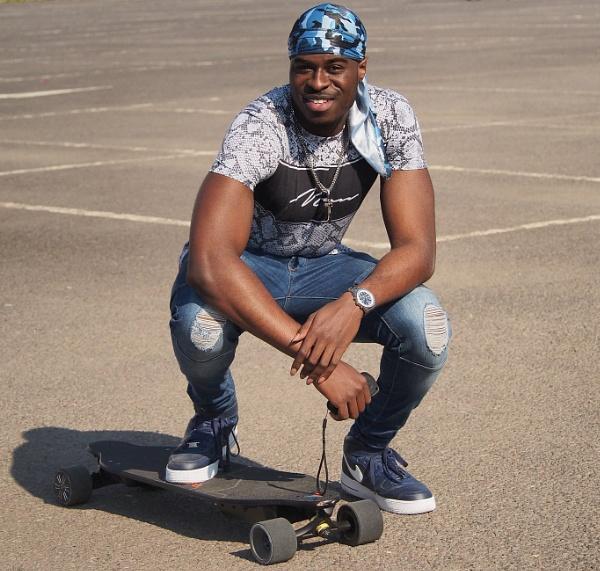 skateboarder by rockabilly