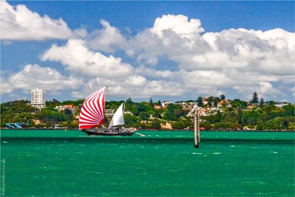 Auckland Harbour by blrphotos