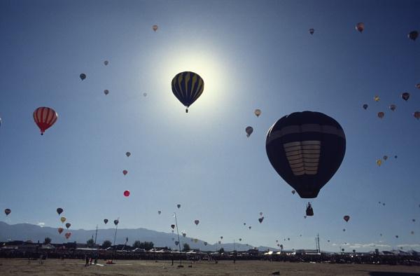 Albuquerque Hot Air Balloon Festival by jinstone