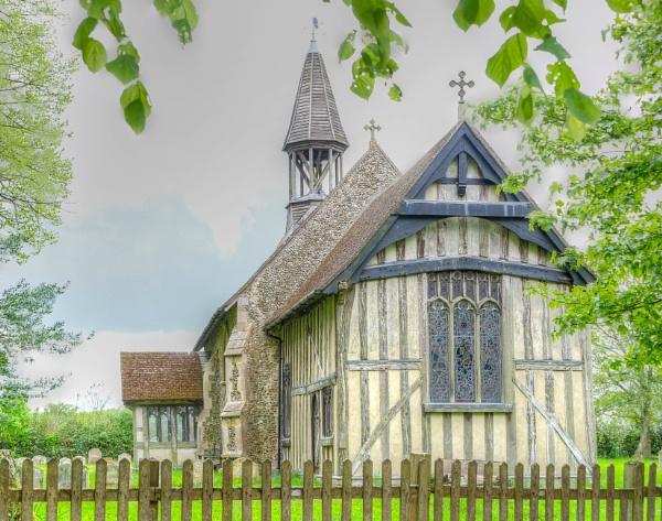 Crowfield Church, Suffolk by CarolF