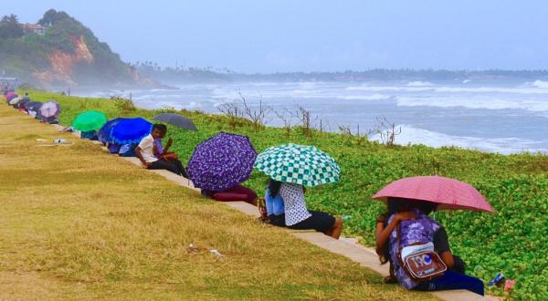 Umbrella love - Matara, Sri Lanka by chrisdunham