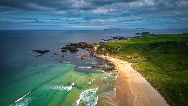 Ballintoy -beach - N.Ireland by atenytom