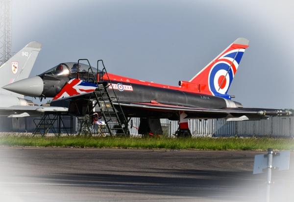 RAF Typhoon Display jet 2021 by Bryan_Marshall