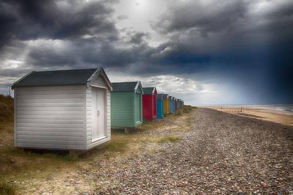 Beach Huts by milepost46
