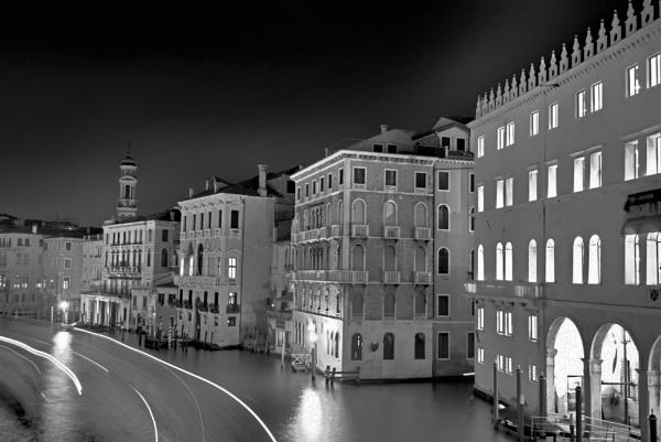 Trails of Light, Venice by EveLine1