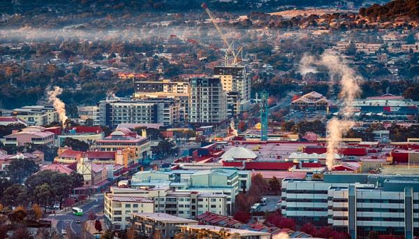 Cold \'burb Blues, Canberra by BobinAus