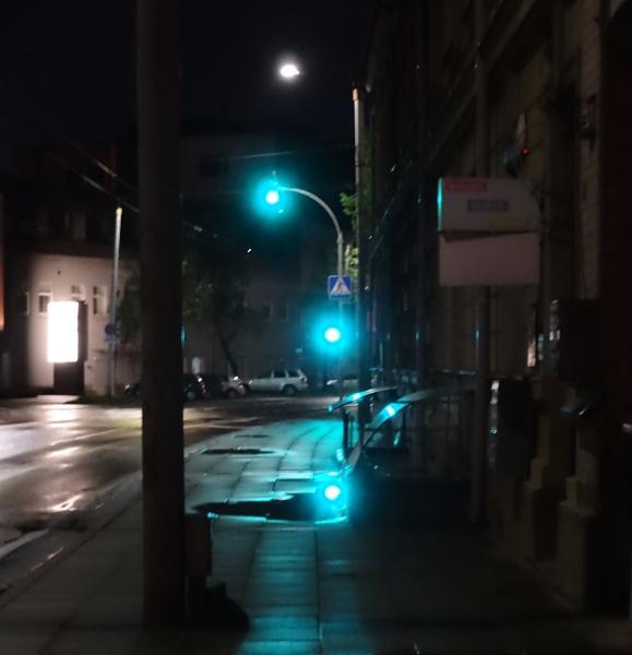 Green traffic light signal by SauliusR