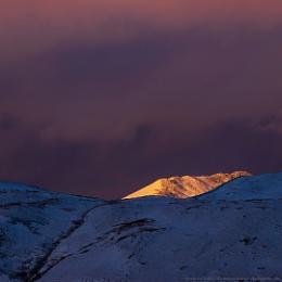 Illuminated Peak
