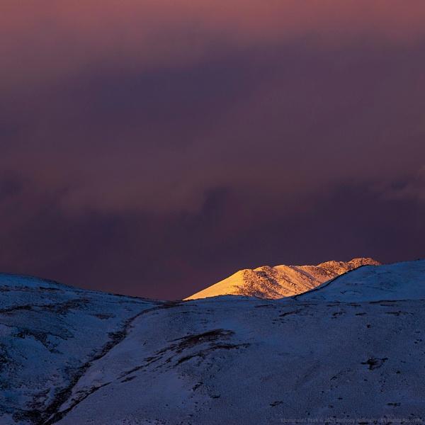 Illuminated Peak by AntHolloway