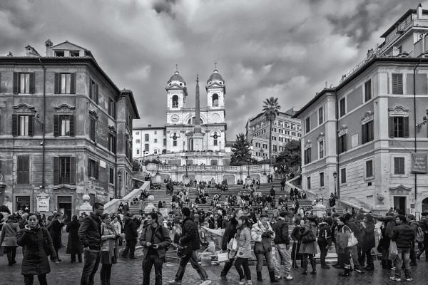 Piazza di Spagna by Xandru