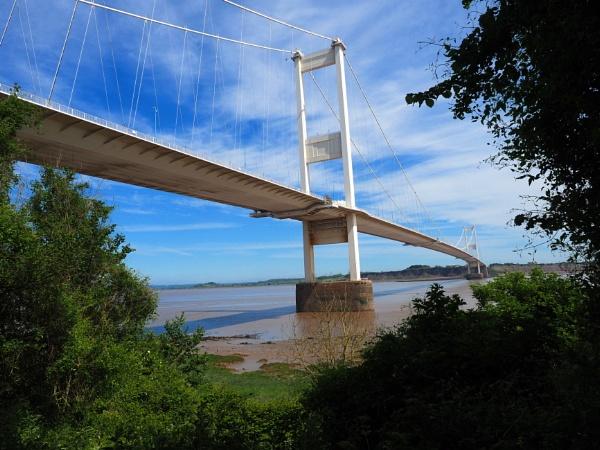 Bridge over the river Severn,The M48. by niknakpaddywhack
