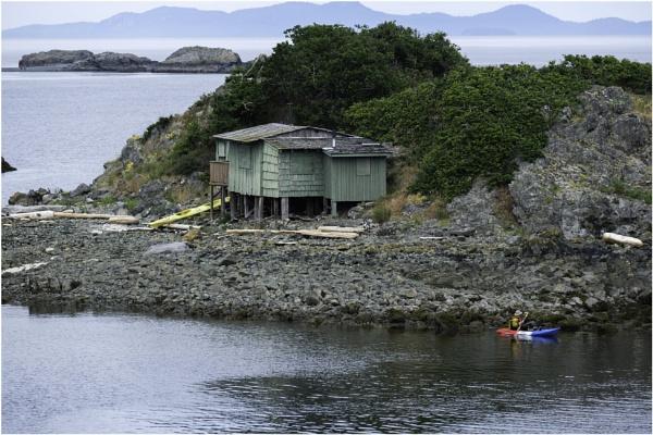 Kayaking to Shack Island by Daisymaye