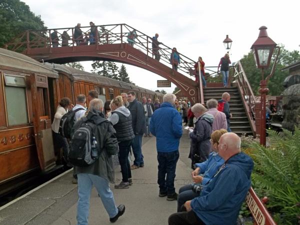 Goathland Station by Hurstbourne