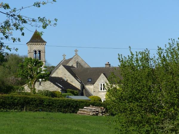 Lovely little church in Frampton Mansell Stroud by Pixiecat