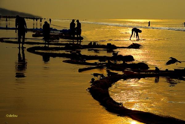 Sea of liquid gold (19) by debu