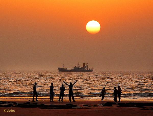 Sea Beach(21)..Aha ki ananda.. by debu