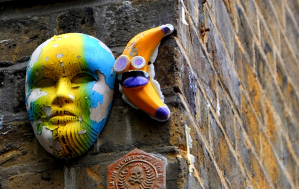 The quirky walls of Shoreditch... by Chinga