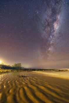 Kaka Point Milky Way