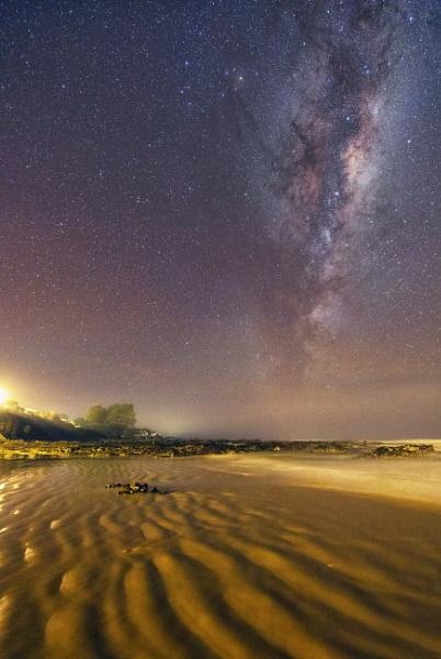 Kaka Point Milky Way by capturingthelight
