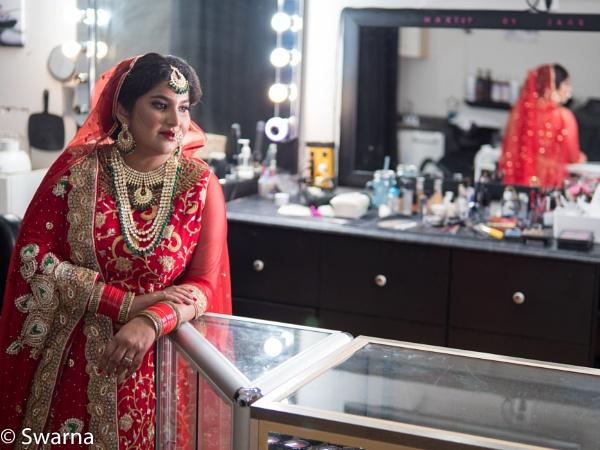 Model in Salon II ... by Swarnadip