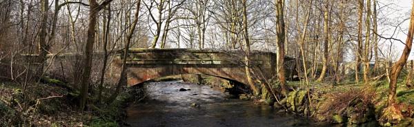 Nethermill Bridge & Midhope Burn by photowanderer