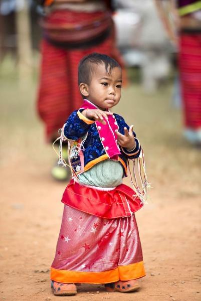 Maetang Minority Village in Thailand