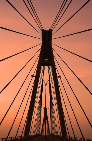 The Barelung Bridge on Batam Island, Indonesia