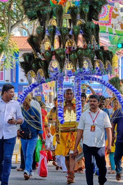 Thaipusam procession