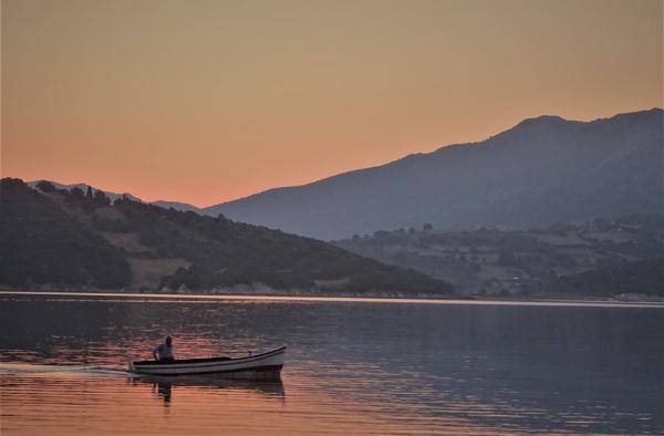 Morning at sea by Kabrielle