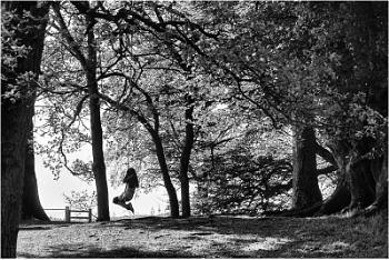 Girl on a Swing.