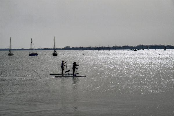 Paddle Boarders by blrphotos