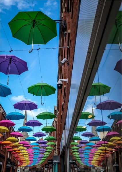Under my umbrella-ella-ella....... by KingBee