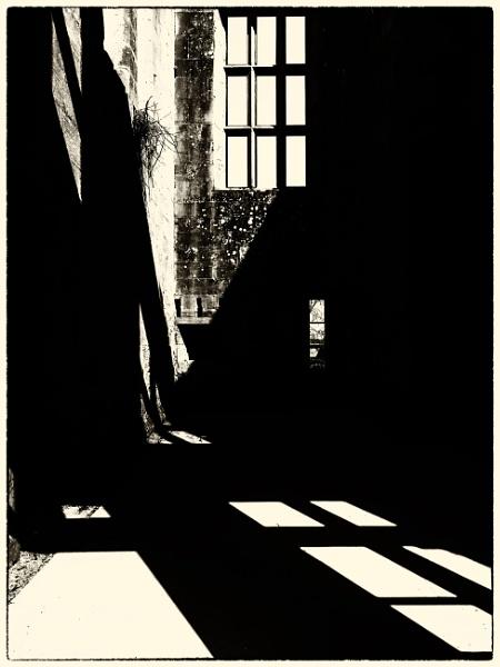 Belsay Castle Shadows 1 by woolybill1