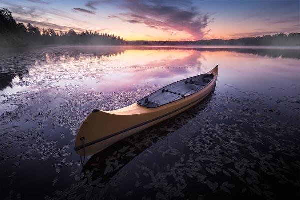 Canoe by A_Stridsberg