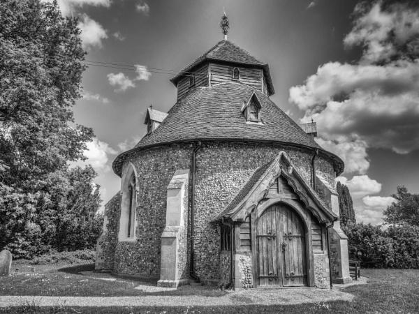 St John the Baptist Church, Little Maplestead, Essex by CarolF