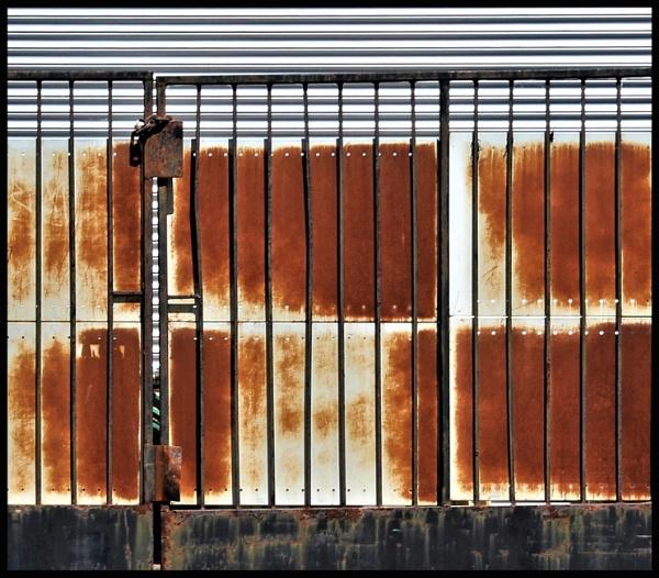 Rusty Panels by helenlinda