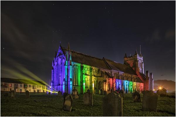 Spring Lights at St Hildas by stevenb