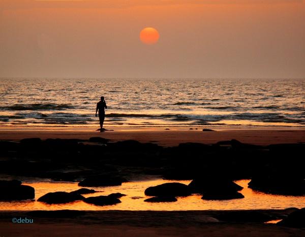 Sea Beach(24). by debu