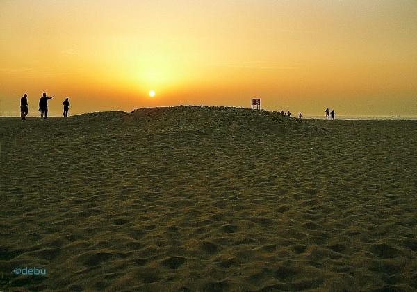 Sea Beach(26). by debu