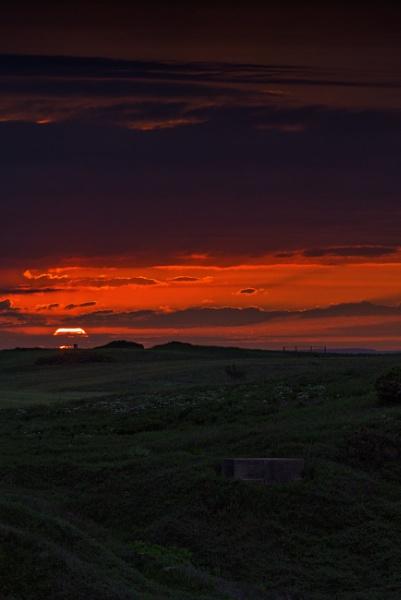 A Pillbox Sunset by Alan_Baseley