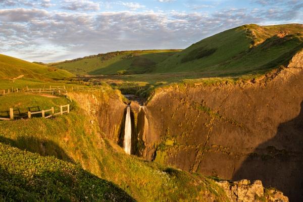 Speke\'s Mill Waterfall by Arvorphoto
