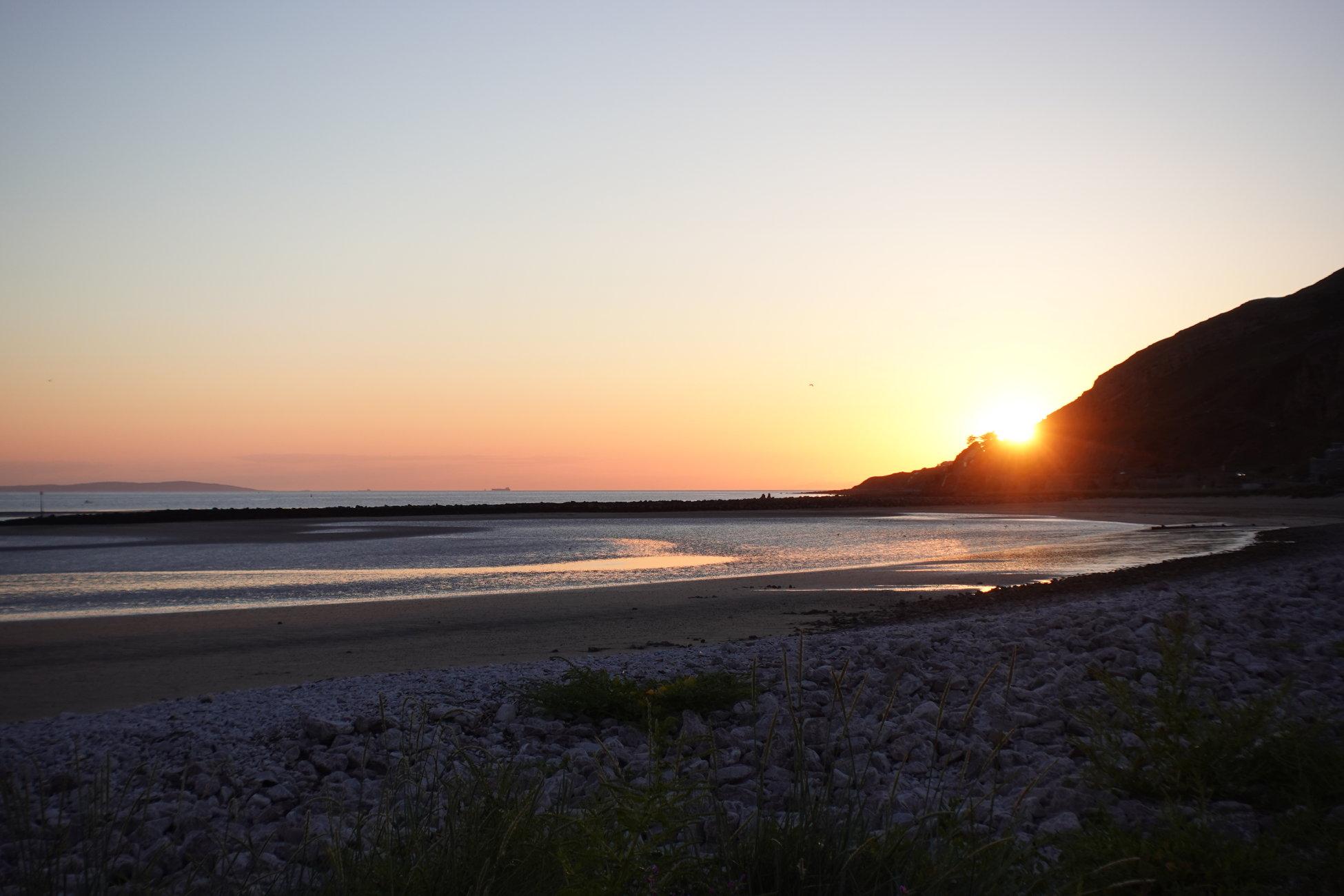 West Shore Sunset