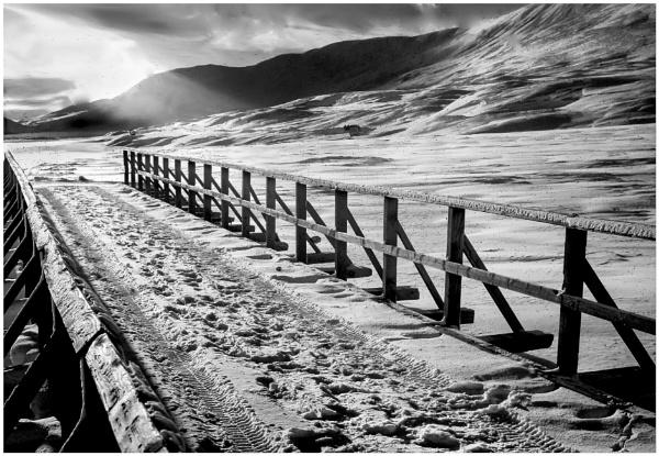 Winter Bridge by mac