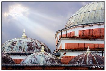 Suliman Mosque, Rhodes, Greece.