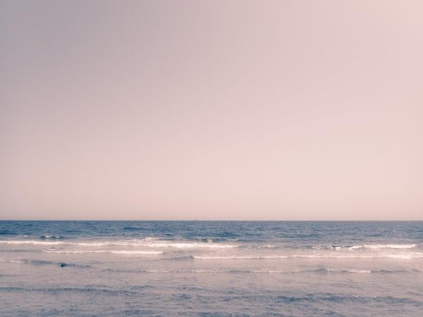 Seaview, sand and empty sky by rninov