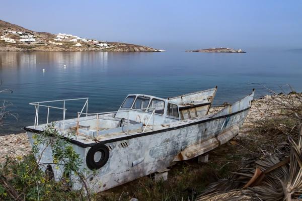 Knackered boat by rickie
